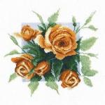 """""""Чайные розы"""" по рис. А. Майской"""
