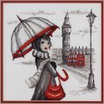 """""""Лондон"""" по рисунку О.Куреевой"""