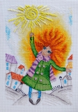 """Мое солнышко"" по рисунку Ю. Доценко"