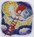 """""""Спокойной ночи"""" по рисунку А.Стобовой"""