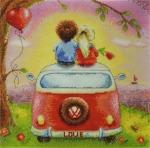 """""""Рассвет для двоих"""" Elina Ellis illustration"""