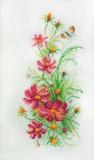 """""""Цветы осени"""" по рисунку О. Цуриной"""
