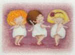"""""""Три обаятельные феи"""" Elina Ellis illustration"""