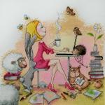 """""""Творческая натура"""" Elina Ellis illustration"""