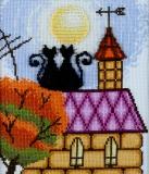 """""""Кошки на крыше"""" по рис. О.Куреевой"""
